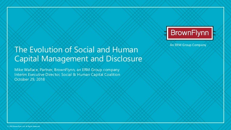 Sustainable Brands New Metrics: The evolution of social and human cap…