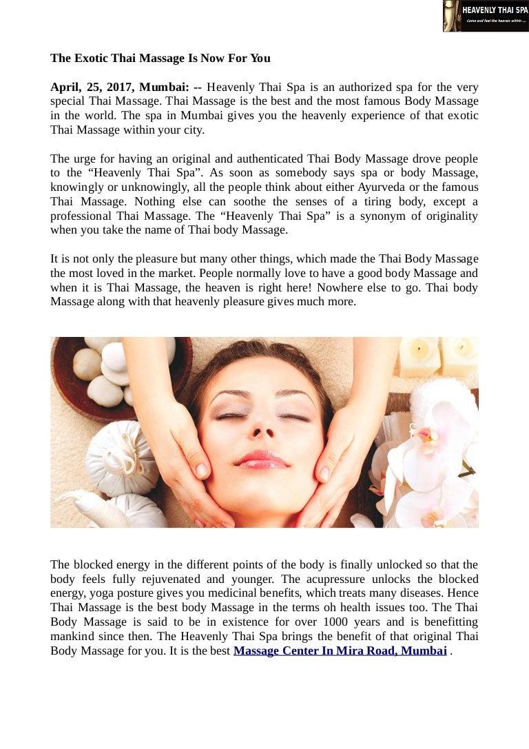 Exotic Thai Massage