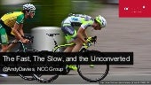 The Fast, The Slow and The Unconverted -  Emerce Conversion 2016