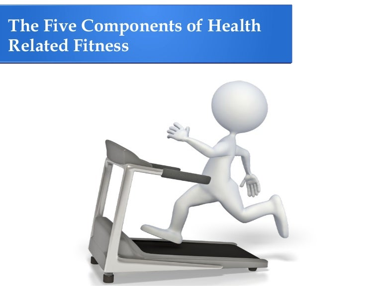 Health & skill-related components of fitness definitions and task.