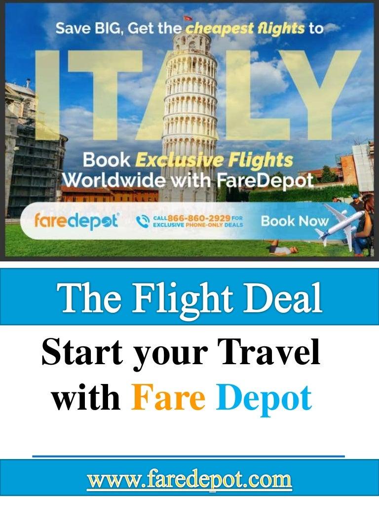 The Flight Deal >> The Flight Deal