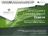 The France Games Market - Newzoo - 2012