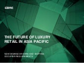 The future of luxury retail in Asia Pacific