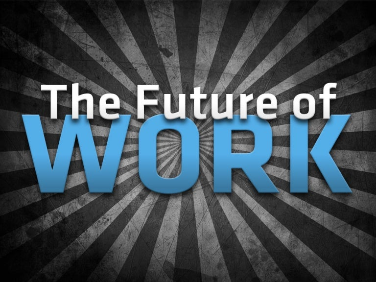 The Future Of Work cover image