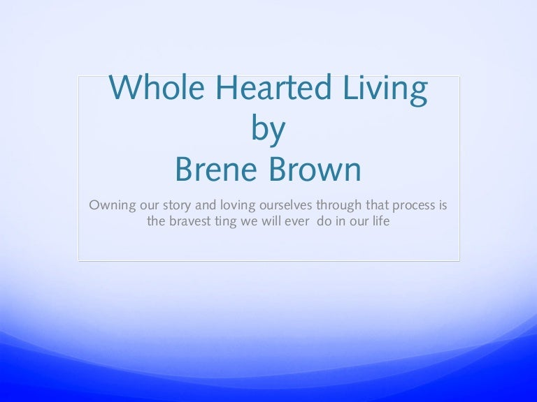Summary and Key Analysis of The Gift of Imperfection by Brene Brown