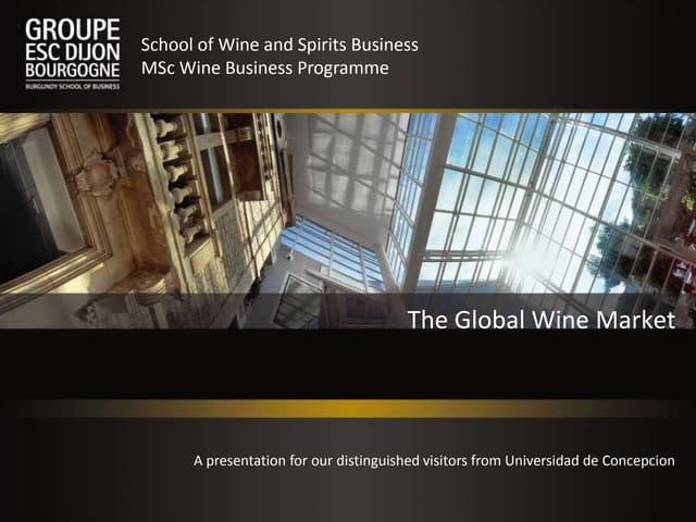 The global wine market