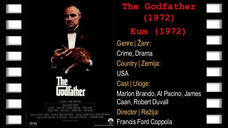 The Godfather (Kum) 1972 | Online sa prevodom