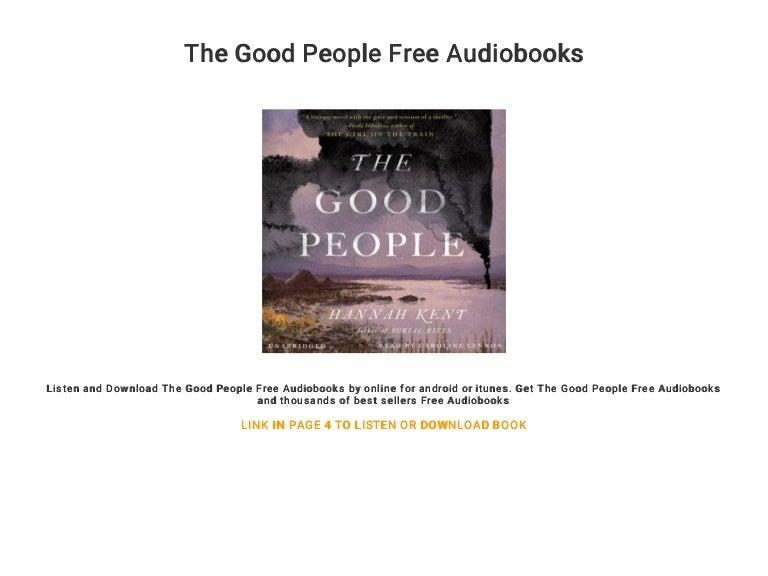 The Good People Free Audiobooks