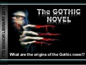The gothic genre 2011 12