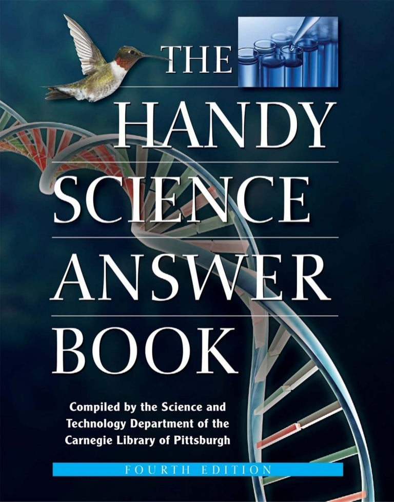 The handy science answer book the handy answer book series fandeluxe Gallery
