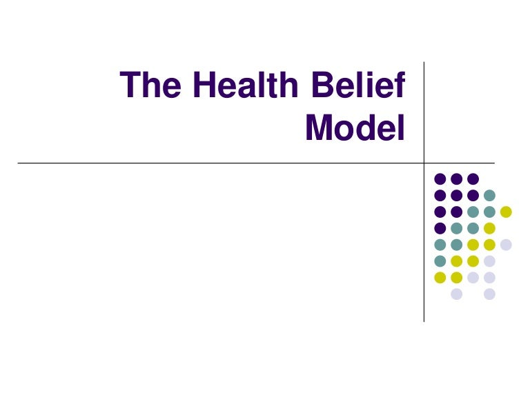 health belief model Evidence-based information on the health belief model from hundreds of trustworthy sources for health and social care make better, quicker, evidence based decisions evidence search provides access to selected and authoritative evidence in health, social care and public health.