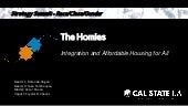 The Homies: Integration and Affordable Housing for All