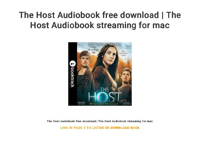 The Host Audiobook Free Download The Host Audiobook Streaming For M