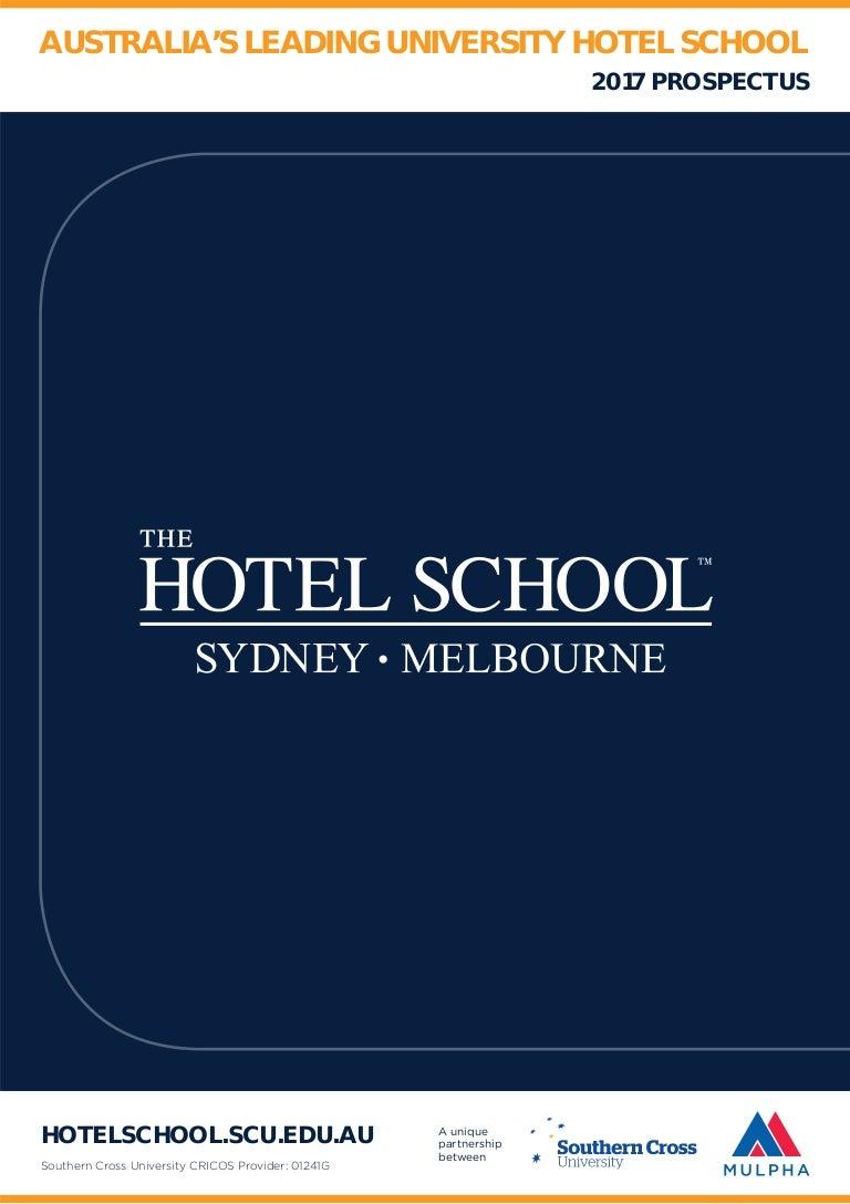 9612269ee42 The Hotel School Brochure