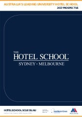 The Hotel School Brochure