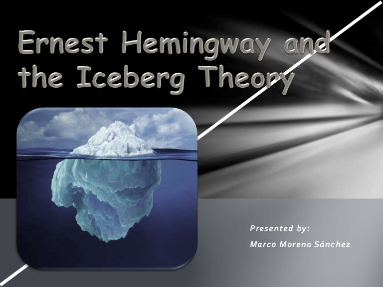 the iceberg theory th