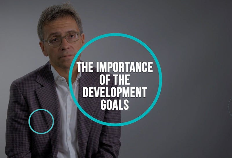 The Importance of the Development Goals