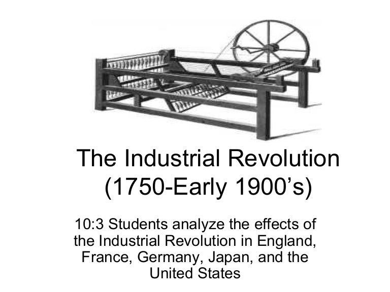 the industrial revolution simple