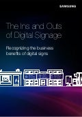"""The Ins and Outs of Digital Signage"""