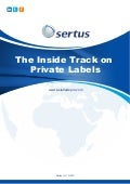 The Inside Track on Private Labels