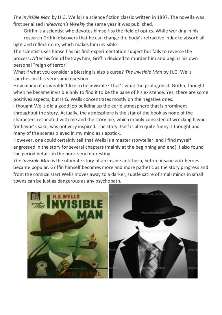 review on the invisible man