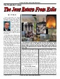 The Jews Return From Exile -  Prophecy In The News Magazine -  July 2008