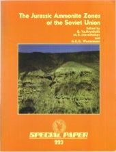 THE JURASIC AMMONITES ZONES OF THE SOVIET UNION