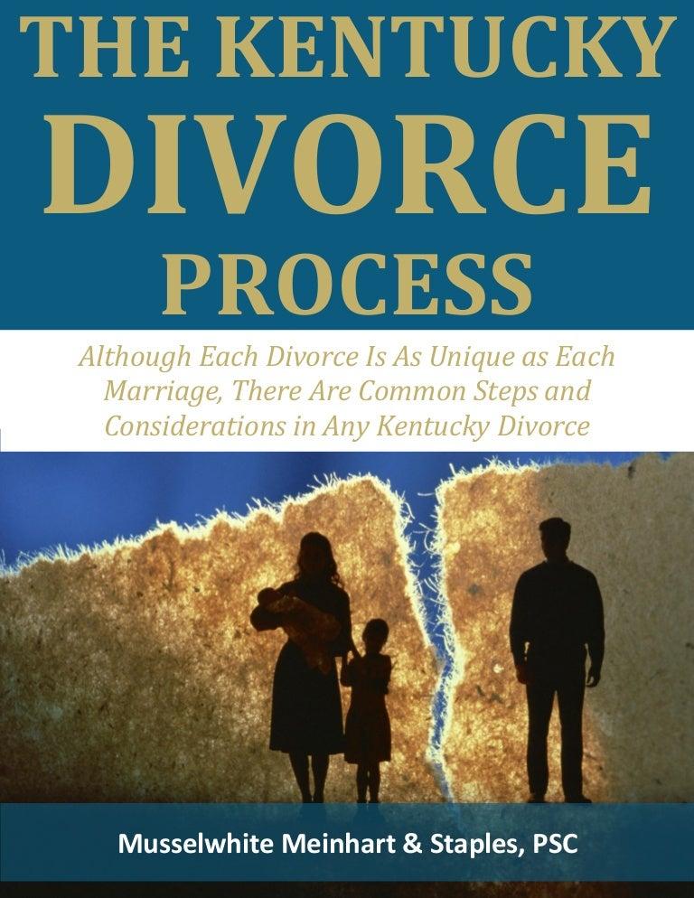 Divorce In Kentucky >> The Kentucky Divorce Process