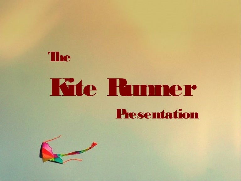 the kite runner presentation serenad