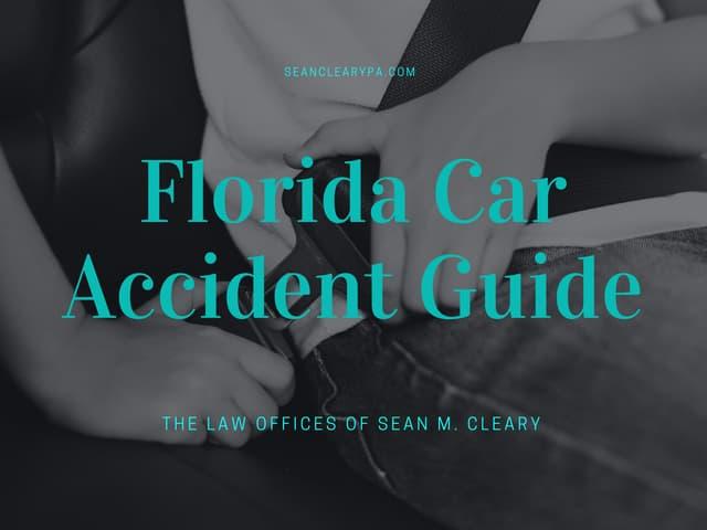 Florida Car Accident Guide