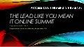 The lead like you mean it online summit
