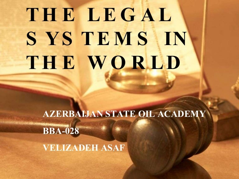 The Legal Systems Of The World