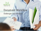 Document Workflow: Challenges and Solutions