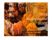 The 14 DAY Liver detox