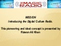 The magic radio presentation