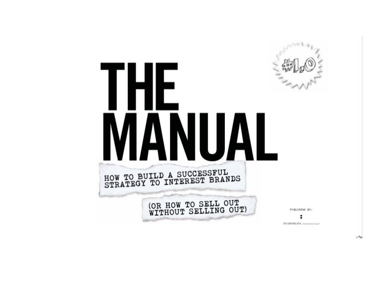 The Manual: Brands and Music