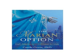LIBRARY ~[NO BUY]~ The Marian Option Gods Solution to a Civilization in Crisis ([Read]_online)