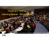 University Learning Spaces -  Disciplinary Perspectives - Introduction
