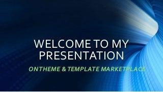 Theme & template marketplace on Freewebtheme.net