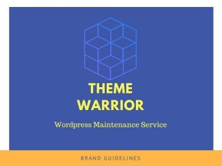 WordPress Maintenance Service & Support By Theme Warrior
