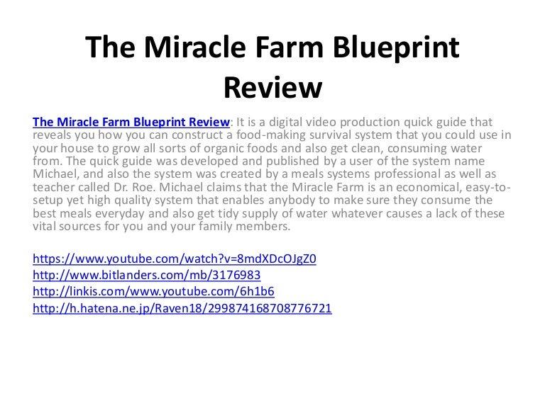 The miracle farm blueprint review themiraclefarmblueprintreview 150615170440 lva1 app6891 thumbnail 4gcb1434388030 malvernweather Images