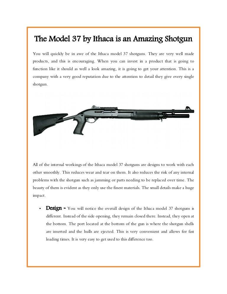 Model 37 shotgun ithaca Ithaca Model