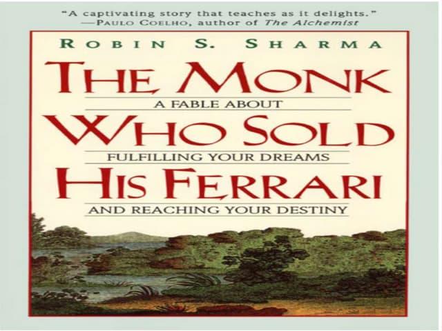 the monk who sold his ferrari pdf full