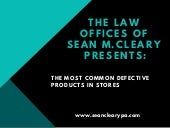 The most common defective products in stores (1)