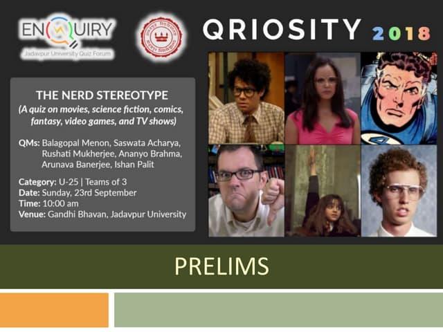 QRIOSITY 2018: The Nerd Stereotype [U-25]