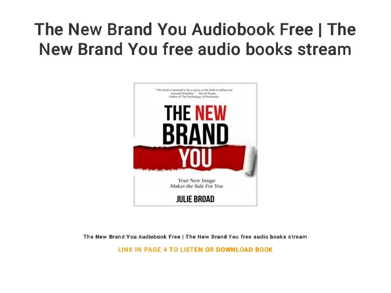 The New Brand You Audiobook Free | The New Brand You free