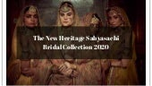 The Latest Heritage Bridal Collection Of Sabyasachi 2020