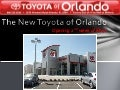 The New Toyota of Orlando Location