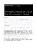 The State Of Digital Transformation In China Versus The Rest Of The World by Brian Solis