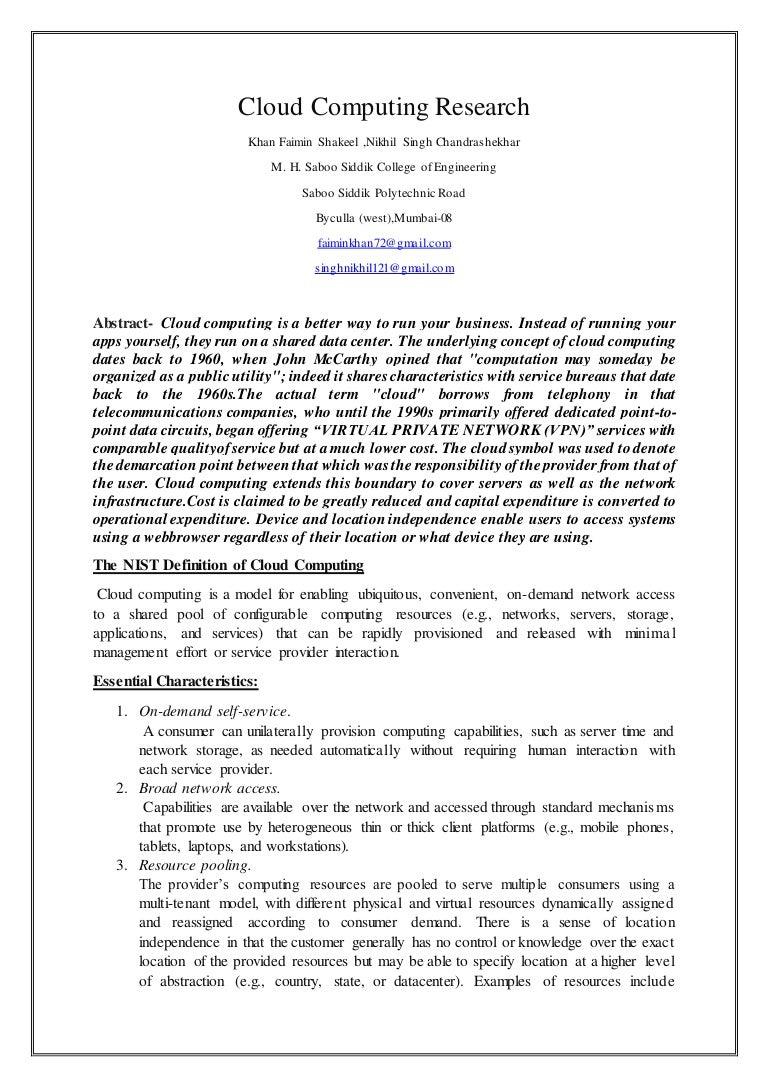 cloud computing research paper 2018 pdf